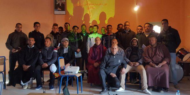 Zagora: formation des arbitres de football à Tazarine