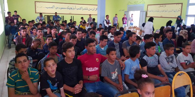 Vidéo..La classe interne au lycée de Tazarine récompense les élèves brillants