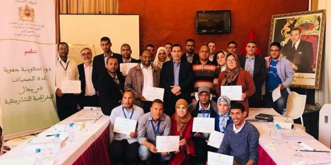 L'association de développement Tighramt participe à la formation de la démocratie participative à Ouarzazate