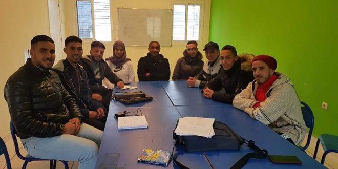 Création du bureau local de l'Association Marocaine de Secours Civil à Debdou