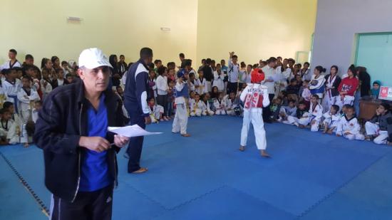 Ouarzazate: Tournoi des associations de la ligue Draa de Taekwondo 12/03/2017