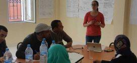 Photos du 2e jour de la formation à la gestion de projet à Tazarine 3 avril 2017