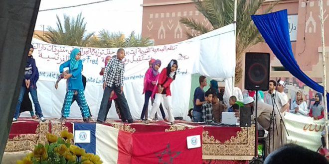 Zagora: L'association Fred Rally et les filles de la maison de l'étudiante honorées à Ait Boudaoud