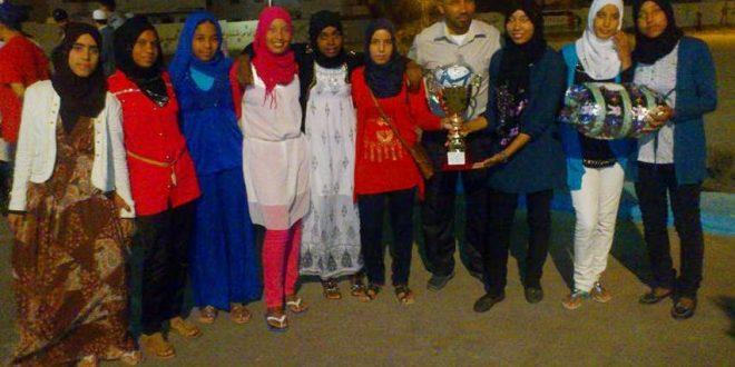 L'équipe féminine de Tazarine champion national des jeux des établissements de la protection sociale 2015