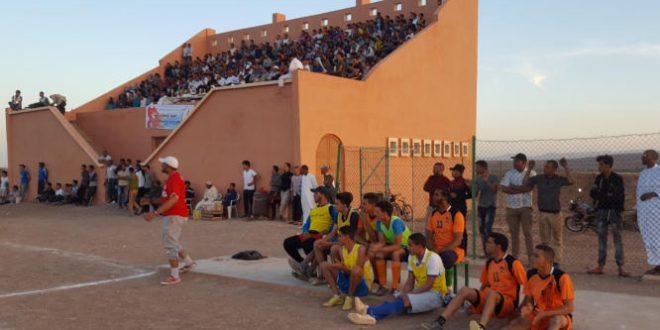Tazarine: L'équipe Alamal remporte la 2ème édition de la coupe de l'oasis